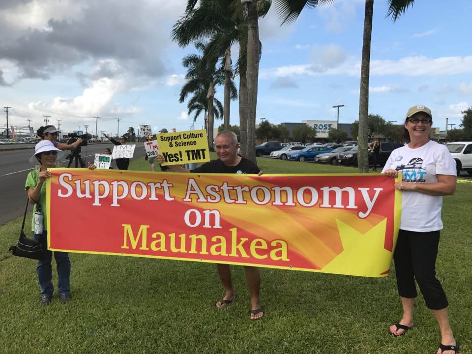 Support Astronomy on Maunakea