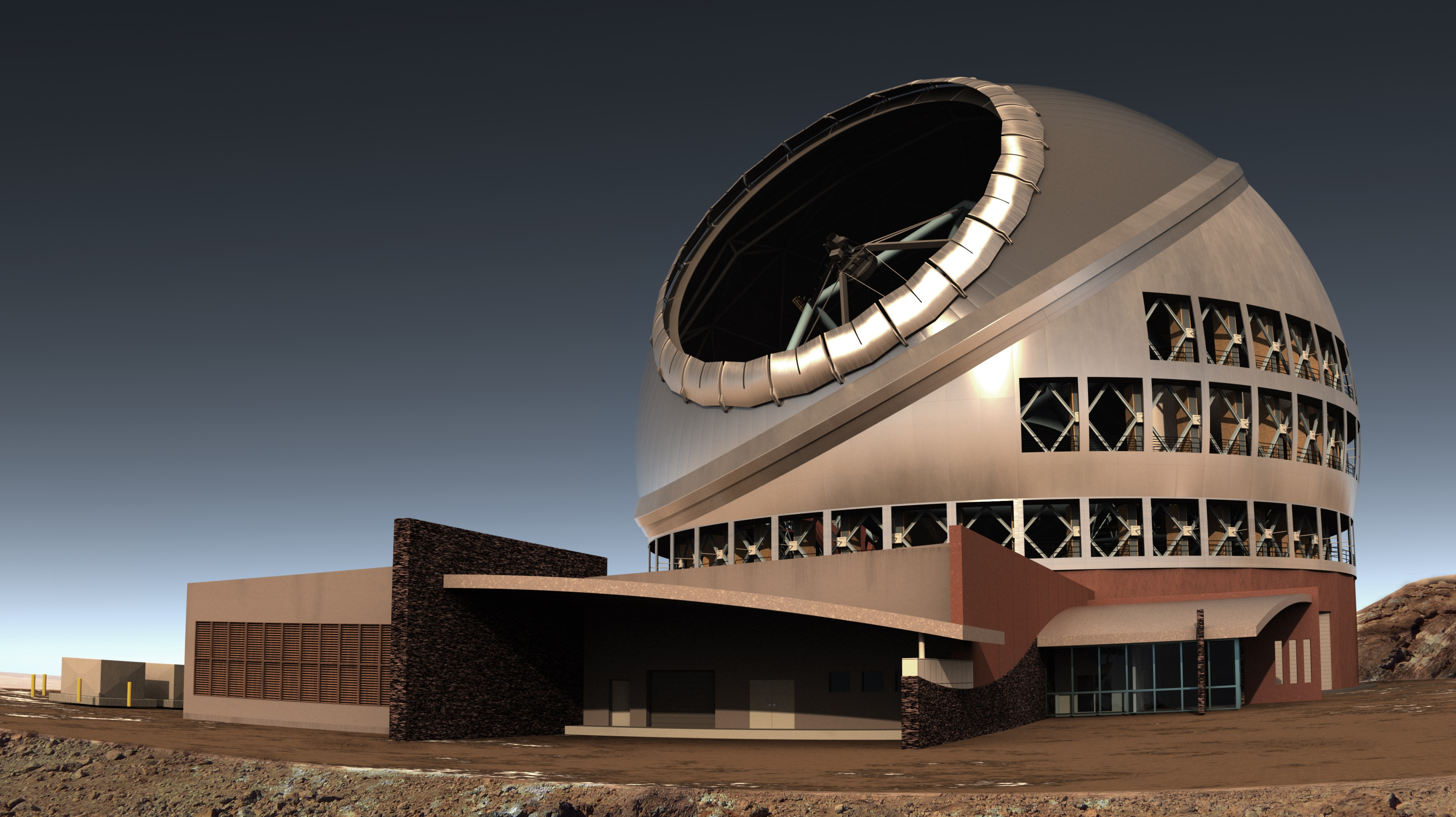 Side View of TMT