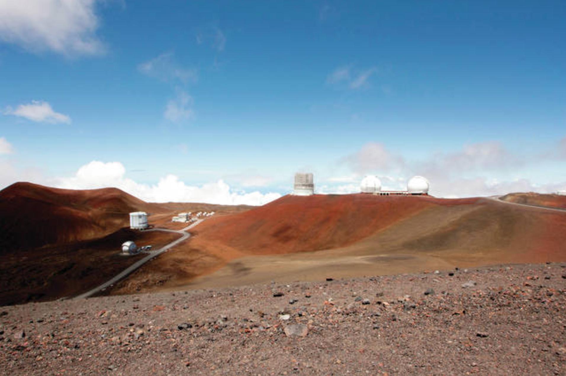 Telescopes Mauna Kea